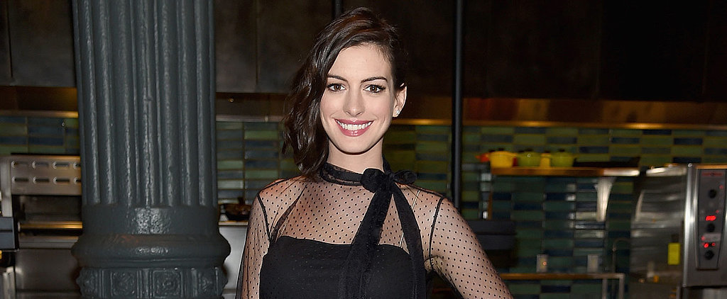 Anne Hathaway Shows Off Her Bare Baby Bump During a Bikini-Clad Getaway