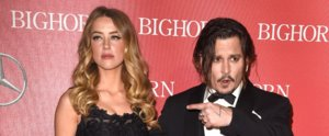"Johnny Depp Thanks His Wife, Amber Heard, For ""Putting Up"" With Him"