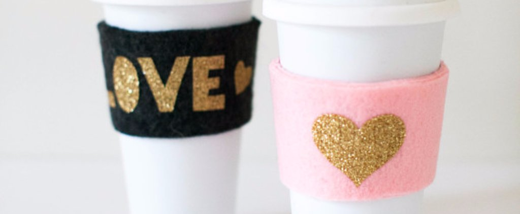 DIY Felted Cozies That Will Make Your Coffee Cup SO Cute