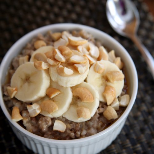 Slow-Cooker Steel-Cut Oatmeal | POPSUGAR Fitness