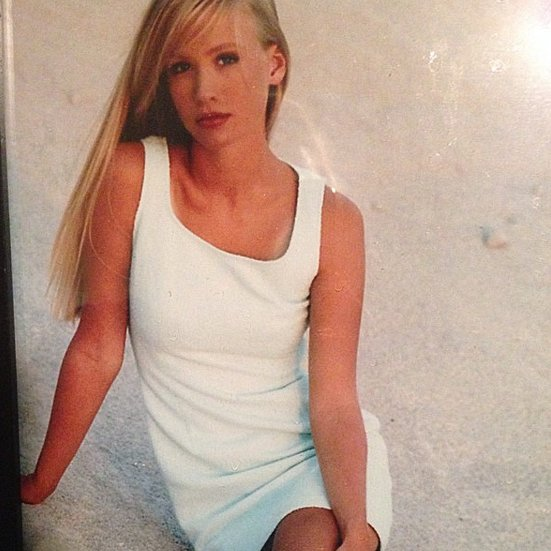"""""""#tbt to my reckless youth, 17yrs old with an attitude and a tan."""""""