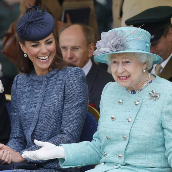 Pictures of Kate Middleton With the Queen