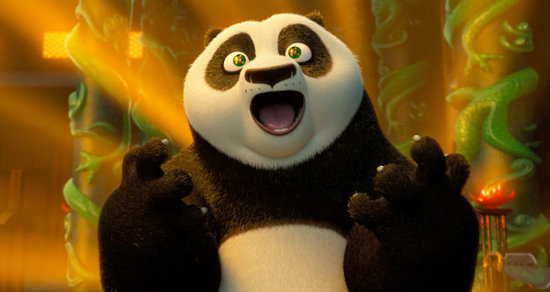 'Kung Fu Panda 3' Exclusive Clip: Po and His Dad Party Like Heroes