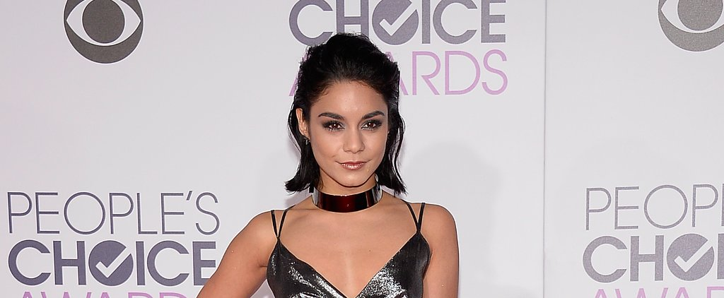 Vanessa Hudgens Looks Like a Grunge-Glam Goddess at the People's Choice Awards