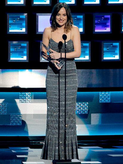 Dakota Johnson Jokes About Her People's Choice Awards Wardrobe Malfunction: 'You've Already Seen My Boobs'