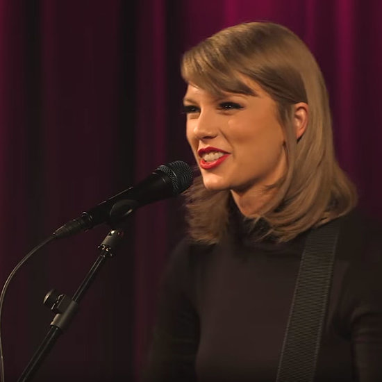 "Taylor Swift's Acoustic Performance of ""Wildest Dreams"""