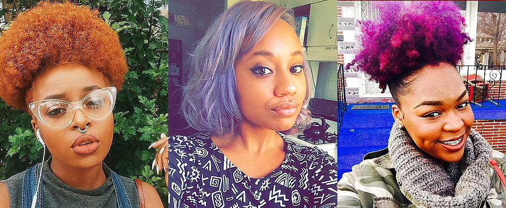 What to Know If You Want to Dye Your Natural Hair a Rainbow Color