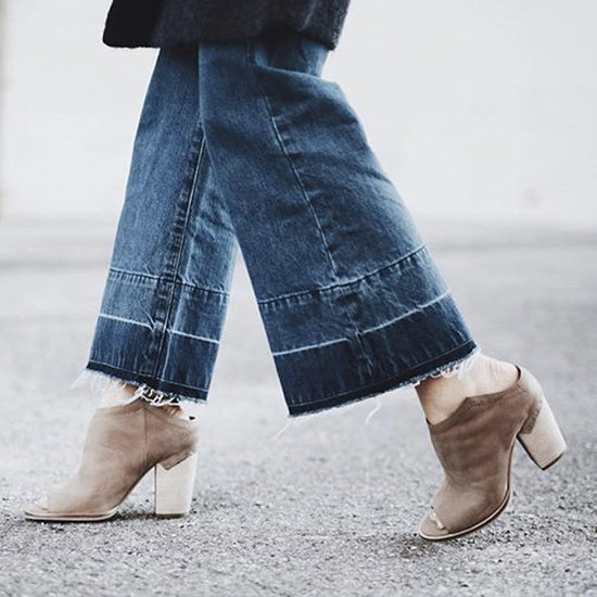 Boots With Cropped Pants Trend
