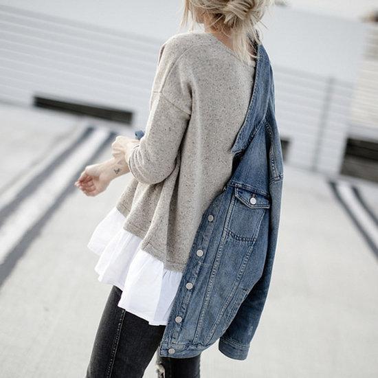 Ways to Wear a Denim Jacket in Winter