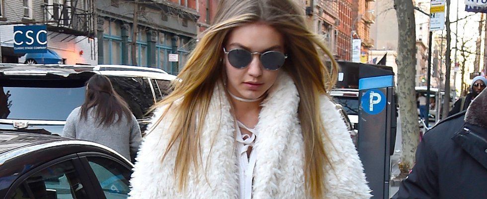 How to Pull Off All White For Winter —According to Gigi Hadid