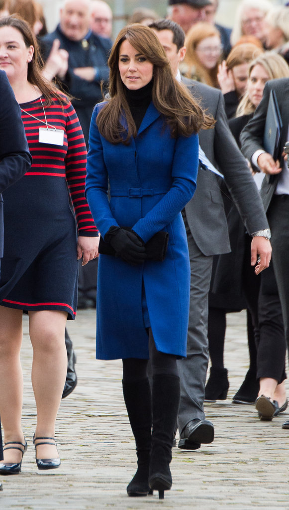 Kate Middleton in Dundee, Scotland in 2015