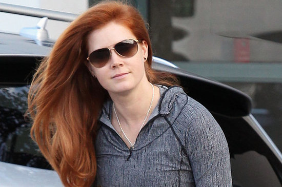 All Amy Adams Has To Do Is Walk And It Looks Like She's In A Shampoo Commercial