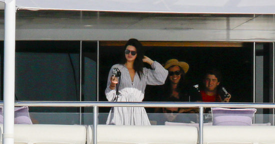 Spotted Kendall Jenner and Harry Styles Getting Handsy on a Yacht