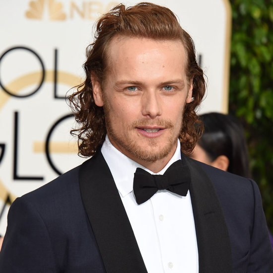 The Cast of Outlander on Golden Globes Red Carpet