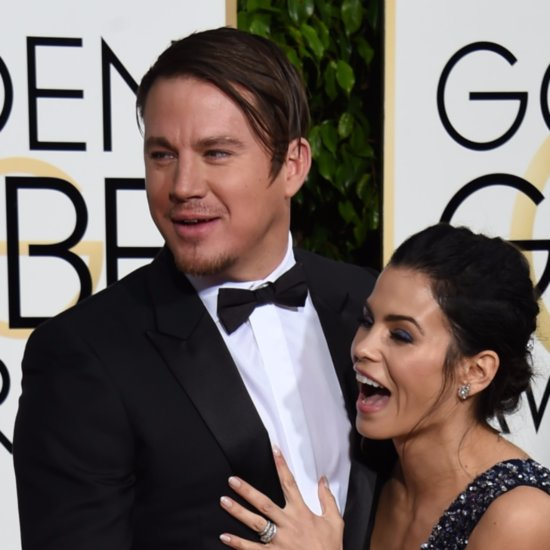 Channing Tatum Hair Golden Globes 2016