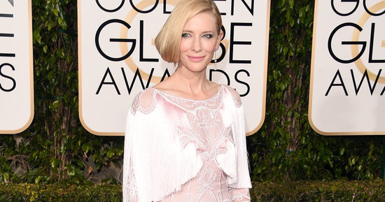 Cate Blanchett Brings Her Own Unique Glamour To The Golden Globes