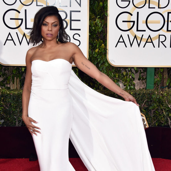 Taraji P. Henson's Dress at Golden Globes 2016