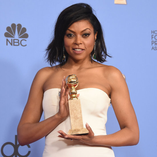 Taraji P. Henson Talking About Cookies at Golden Globes 2016