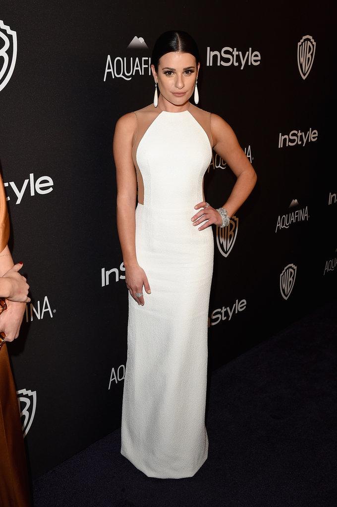 Pictured: Lea Michele