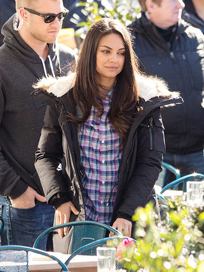 Mila Kunis Steps Out on Set of Her Moms-Gone-Wild Movie in New Orleans