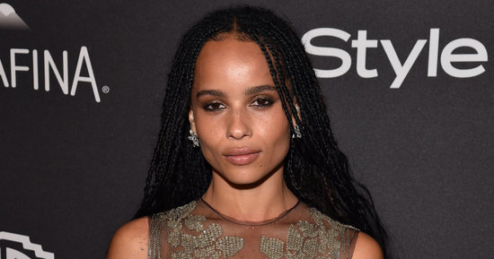 Zoe Kravitz Wows In A Completely Sheer, NSFW Dress After The Golden Globes