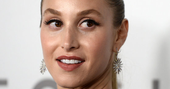 Whitney Port Wore A Sheer Fishnet Dress To The Golden Globes