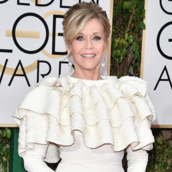 Jane Fonda's Reaction at the Golden Globes Became This Hilarious Meme