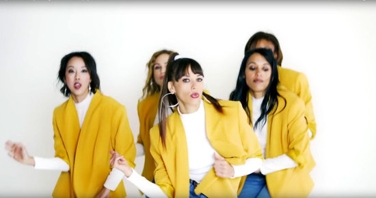 Rashida Jones's New Video Is a Guide to Looking Fly, '90s-Style