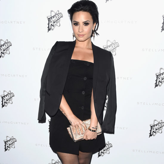 Demi Lovato at Stella McCartney Fall 2016 Preview Red Carpet