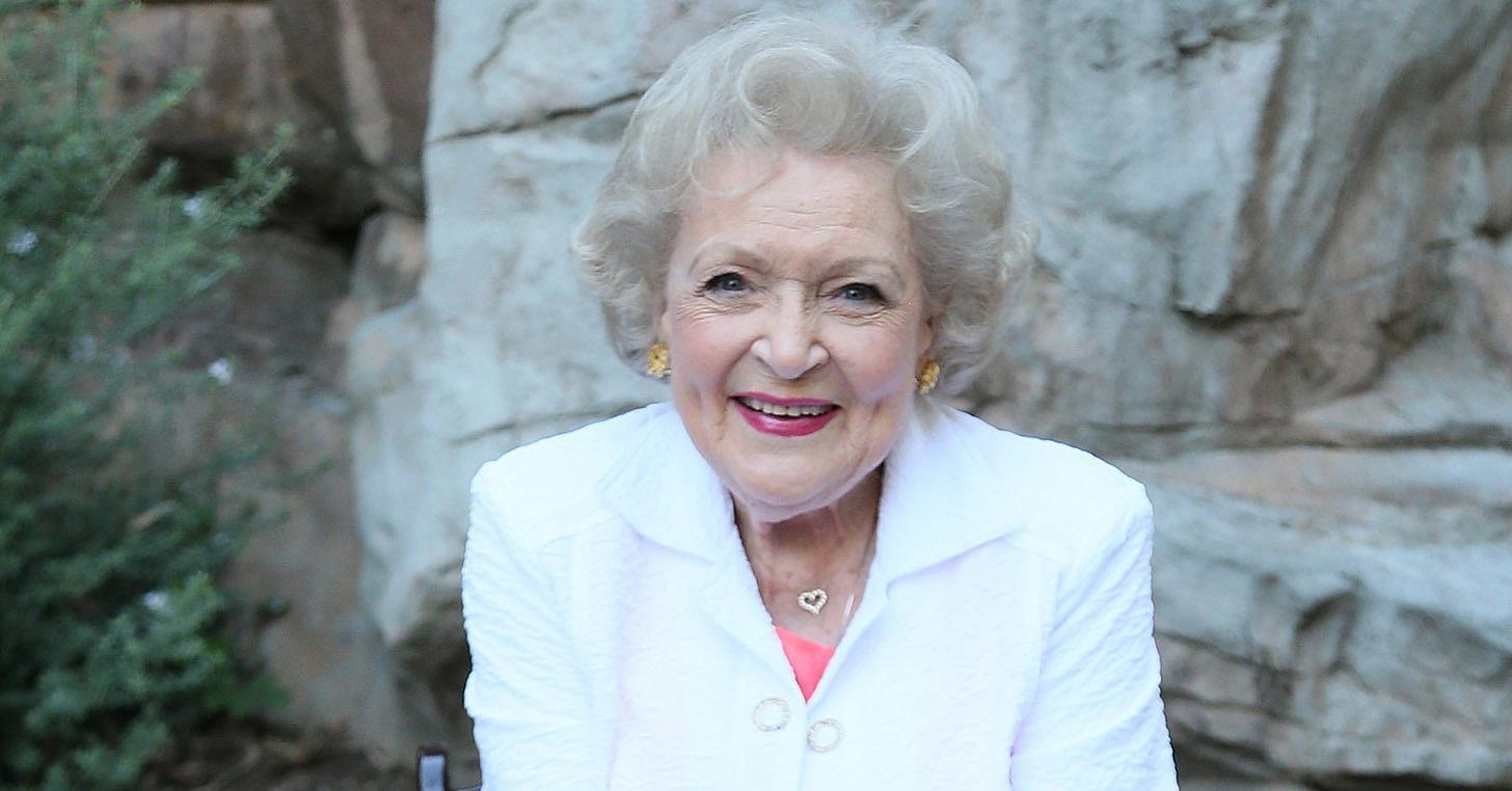 Betty White age 2016