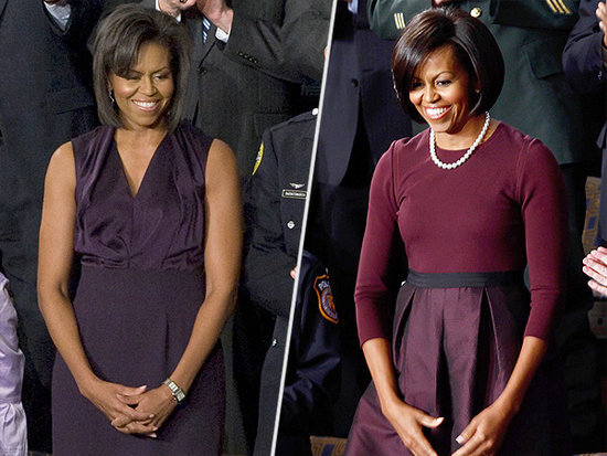 Every Dress Michelle Obama Wore to the State of the Union Addresses