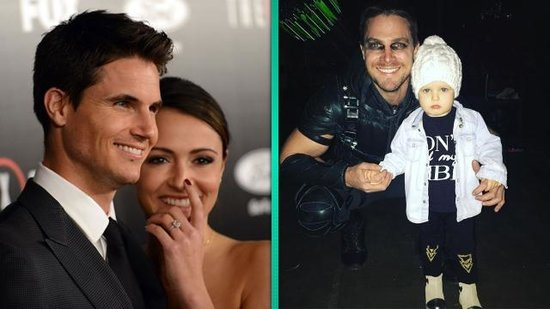 EXCLUSIVE: Robbie Amell and Italia Ricci Dish Wedding Details: Stephen Amell's Daughter to be a Flower Girl!