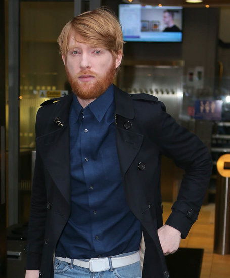 Domhnall Gleeson promotes The Revenant in London, should present at the Oscars