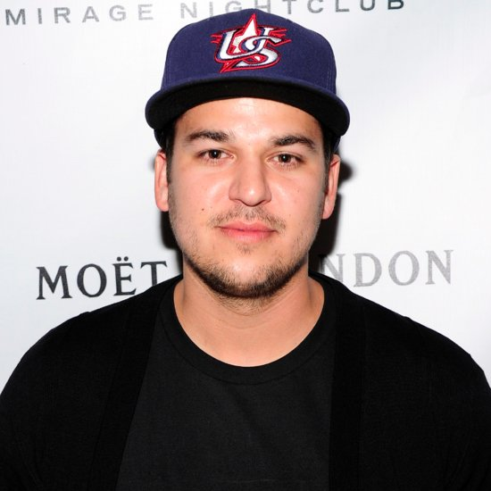 This Is How Rob Kardashian Feels About Losing the Powerball Lottery