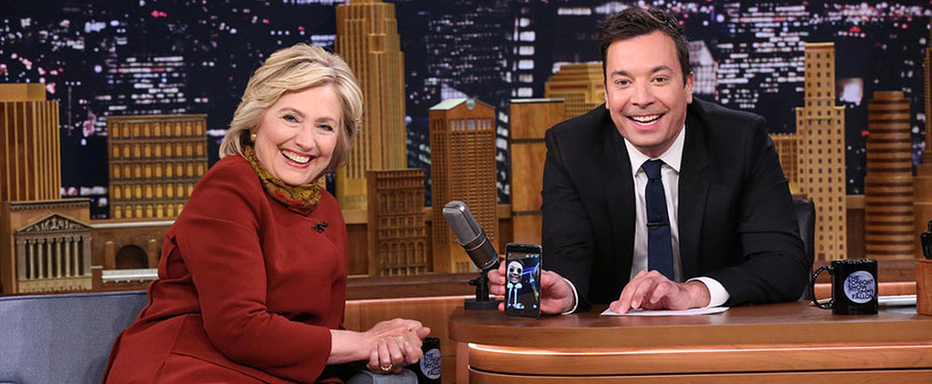 Hillary Clinton and Jimmy Fallon Just Put All of Your Snapchat Photos to Shame
