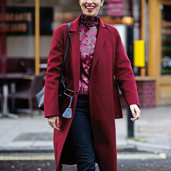 How To Rock All Over Burgundy Like A Street Style Star