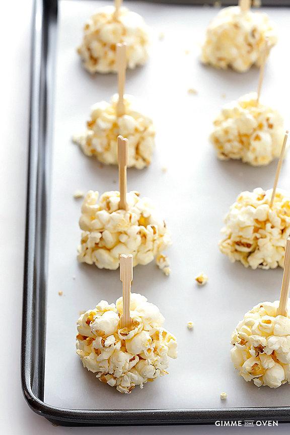 Naturally Sweetened Honey Popcorn Balls
