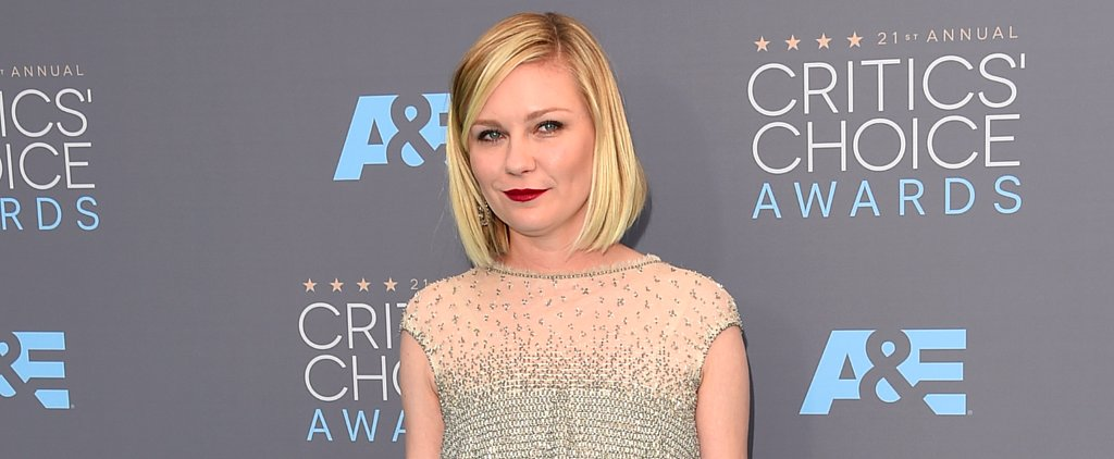 Kirsten Dunst Is a Shimmering Dream in Chanel at the Critics' Choice Awards