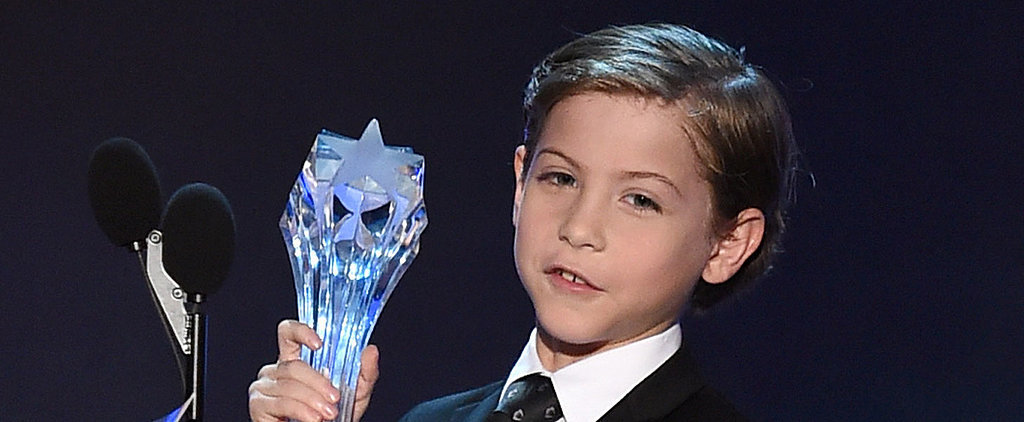 Jacob Tremblay's Adorable Acceptance Speech Will Melt Your Heart Onto the Floor