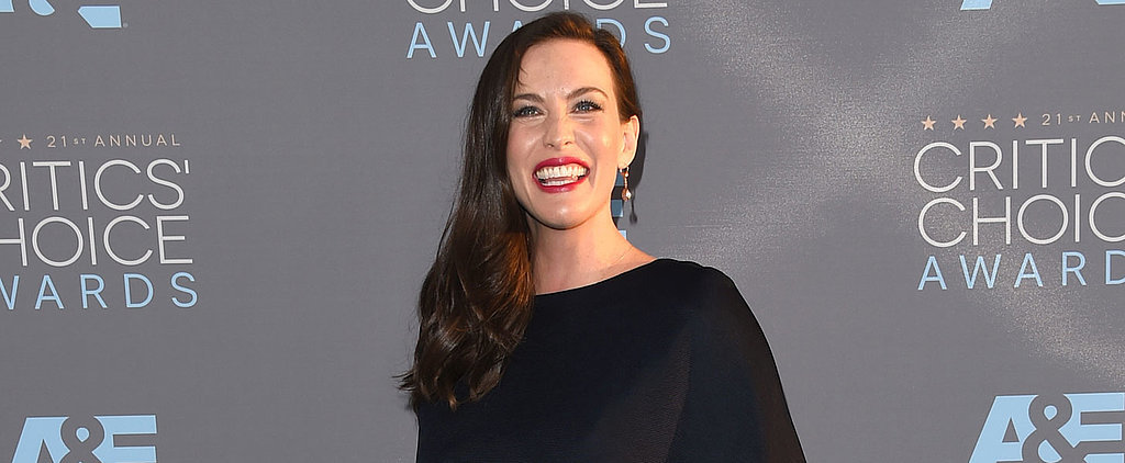 Liv Tyler Shows Off Her Growing Baby Bump on the Red Carpet