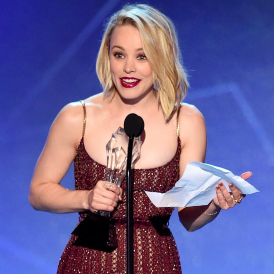 Rachel McAdams Critics' Choice Awards Speech 2016