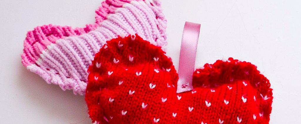 Sweet-Smelling Sweater Heart Satchels