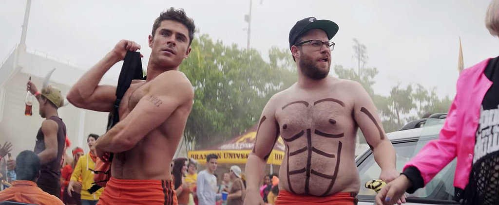 Zac Efron's Abs Are Back and Better Than Ever in the Trailer For Bad Neighbours 2