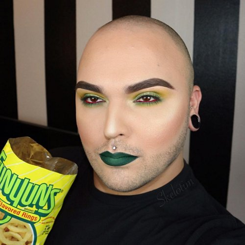Makeup Looks Inspired by Snacks