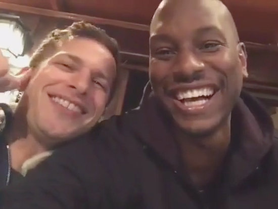 Tyrese Built a Benihana-Style Restaurant in His Backyard, Parties with Andy Samberg and Aziz Ansari