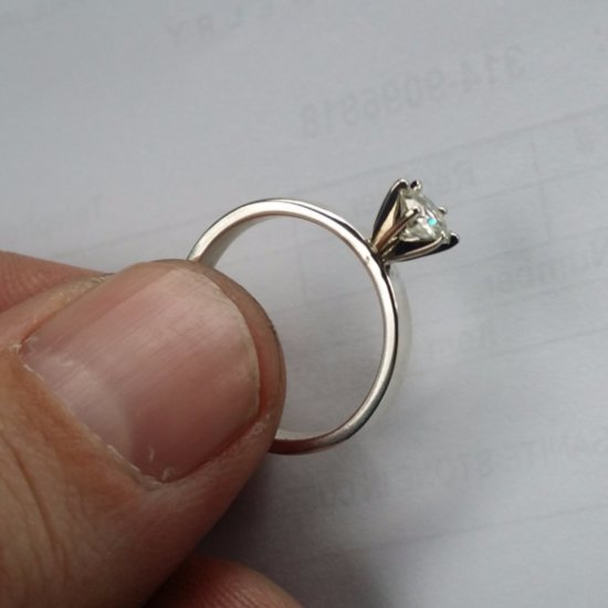 Imgur User's Handmade Engagement Ring