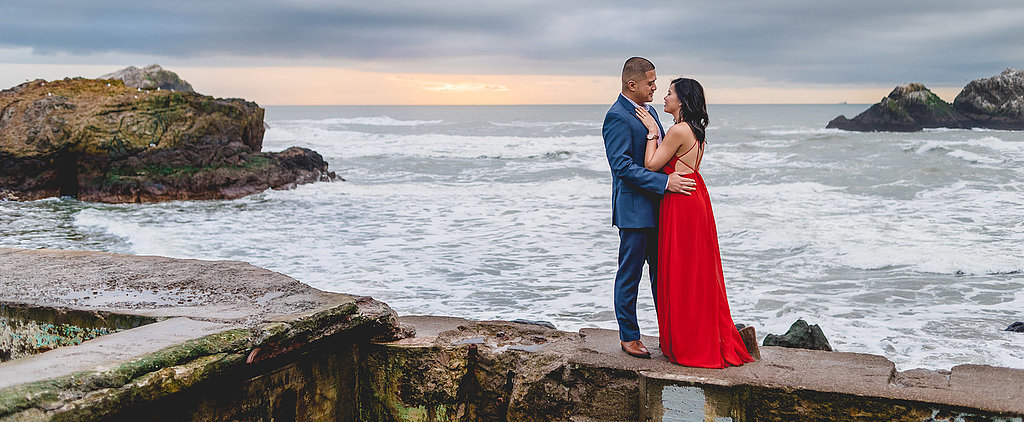 This Engagement Shoot on the Pacific Is All Sorts of Dreamy