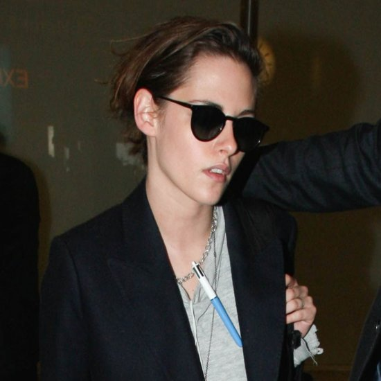 Kristen Stewart at LAX January 2016