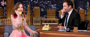 We Need to Talk About the Gucci Dress Dakota Johnson Wore on The Tonight Show