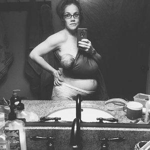Mom Takes Postbirth Breastfeeding Selfie in Adult Diapers